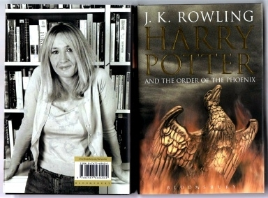 J K Rowling. Harry Potter Order of the Phoenix. Adult Hardback.