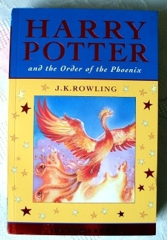 Harry Potter and the Order of Phoenix Celebration First Edition.