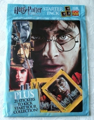 Harry Potter Deathly Hallows (Part 2) PANINI Sticker Book 2011