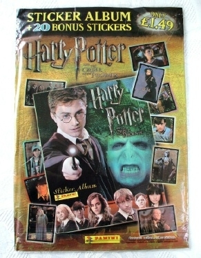 Harry Potter & the Order of the Phoenix PANINI Sticker Book 2007