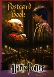 Harry Potter Philosopher's Stone Postcard Book (BLOO 0026)