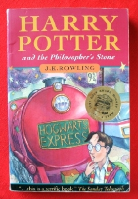 Harry Potter and the Philosopher's Stone P/B First Edition 10th