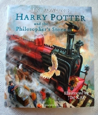 Harry Potter Philosopher's Stone Illustrated 1st Edition Jim Kay
