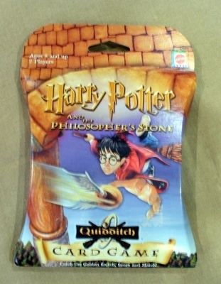 Harry Potter Quidditch Card Game. Mattel (42902) Sealed!