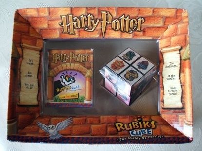 Harry Potter Rubik's Cube Puzzle Brand New & Still Boxed 2001