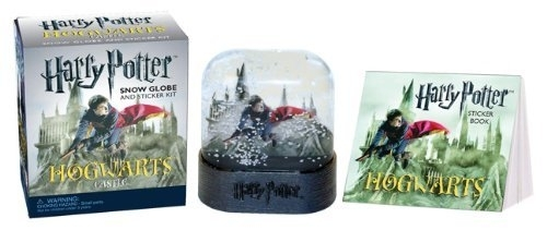 Harry Potter Miniature Snow Globe and Mini Sticker Kit