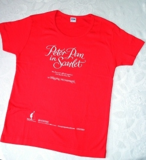 Peter Pan in Scarlet. Rare Promo T-Shirt
