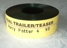 Harry Potter Goblet of Fire Warner Bros. 35mm Movie Trailer (V3)