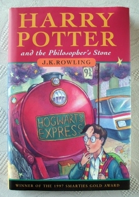 Harry Potter Philosopher's Stone UK Ted Smart First Edition 2nd