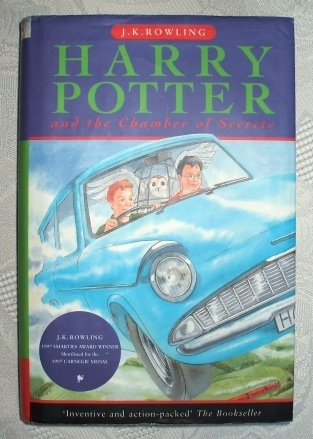 Harry Potter and the Chamber of Secrets (Ted Smart) UK 1st/4th