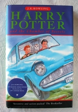 Harry Potter Chamber of Secrets UK First Edition. Ted Smart (S)