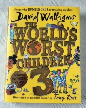 David Walliams The World's Worst Children 3 Hardback 1st Edition