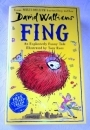 David Walliams. FING. UK Hardback First Edition, First Print