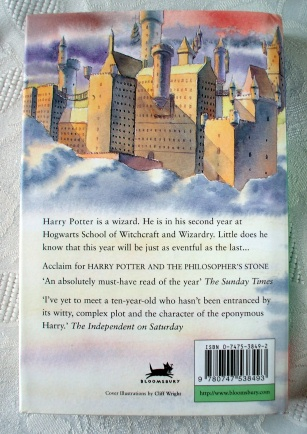 Harry Potter & the Chamber of Secrets UK 1st/25th Edition (R)