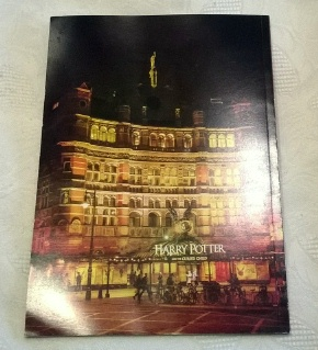 Palace Theatre London Harry Potter &  the Cursed Child Program